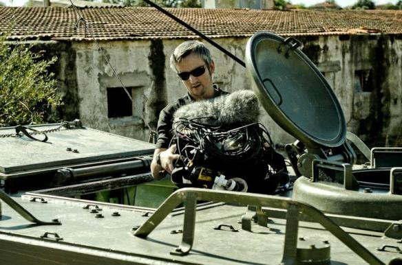 Jesús Espada durante una sesión de grabación FX