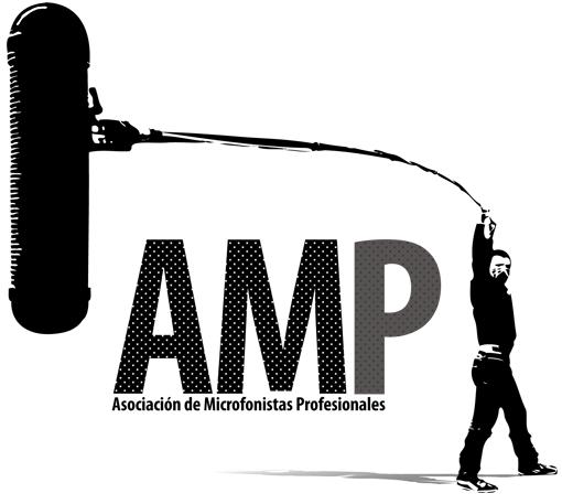 Logo de la AMP -Asociación de microfonistas profesionales-
