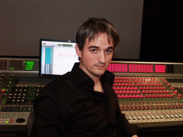 El sonidista y diseñador de sonido Jesus Espada.