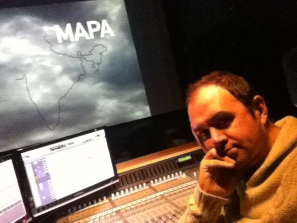 Nacho Royo-Villanova, diseñador de sonido de -MAPA-.