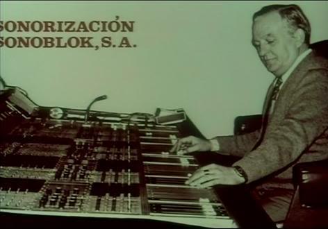 Histórica imagen de los estudios Sonoblok de Barcelona.