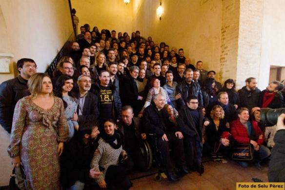 Foto de familia de los premios ASECAN.