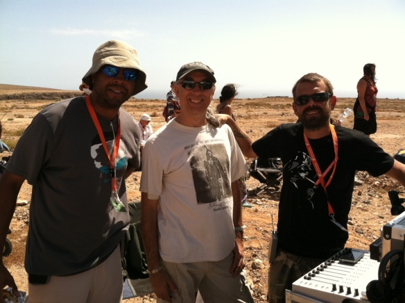 %22THE DICTATOR%22 2012 BOOM OPERATOR CON BILLY SAROKIN (PRODUCTION SOUND MIXER) & SCHAVARIA REEVES (SOUND ASSISTANT)
