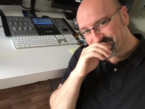 El Diseñador de sonido Daniel Rodrigo Hitos.