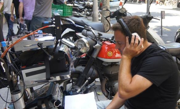El Sonidista y diseñador de sonido Xavier Mas.