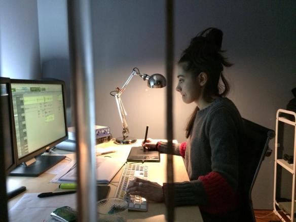 Laura Díez, Editora/montadora de diálogos.