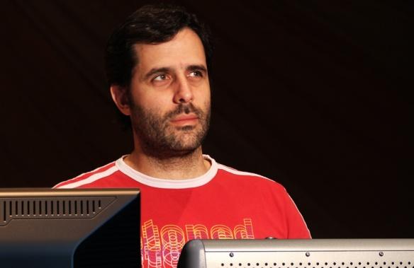 El Mezclador de Re-grabación Diego Gat.