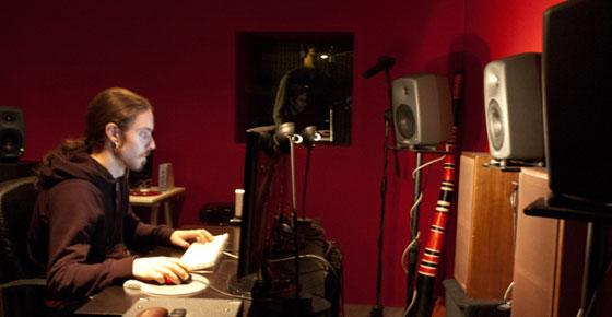 El Sonidista y diseñador de sonido Miguel Calvo