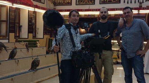 Con Fabien wohlschlag y Mauro Losa en Doha -Qatar 2014