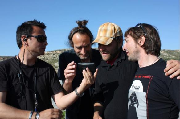 Con Jairo Murray, Carles Gusi y Fran Ruvira en Orson West 2009
