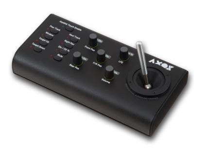 JL Cooper AXOS, controlador surround panner.