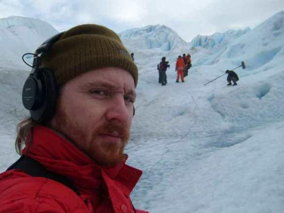 Rodaje serie Antártida
