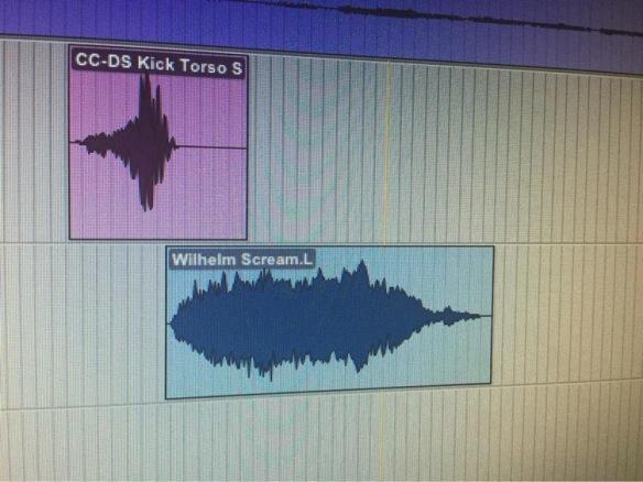 """El grito Wilheim se puede encontrar dentro del montaje de sonido de """"Mi gran noche"""""""
