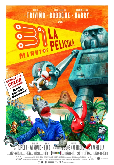 """31 minutos"" Álvaro Díaz y Pedro Peirano."