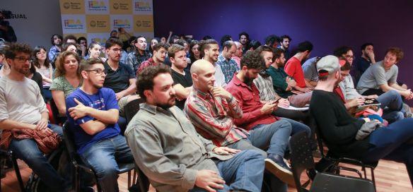 Asistentes a la charla de mezcladores organizada por ASA