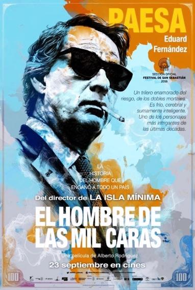 """""""El Hombre de las mil caras"""" una película de Alberto Rodríguez"""