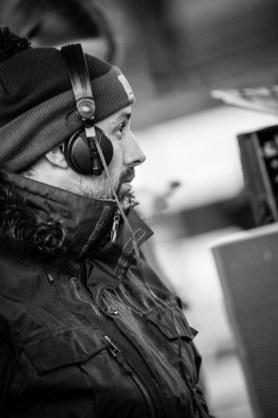 El Sonidista y diseñador de sonido David Machado