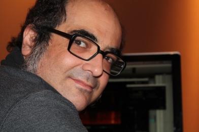 El diseñador de sonido Pelayo Gutiérrez